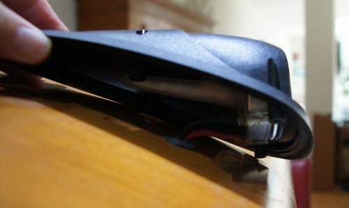 B&W HTM7 Hochtöner Ersatz: B&W HTM7 Hochtöner vom Lautsprechergehäuse getrennt