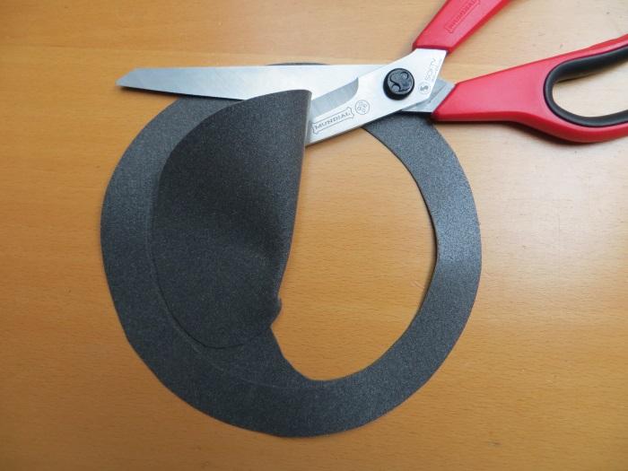 Reparatur mit einem hausgemachten flache Schaumstoff Sicke: wir machen eine maßgeschneiderte flache Schaumstoffsicke