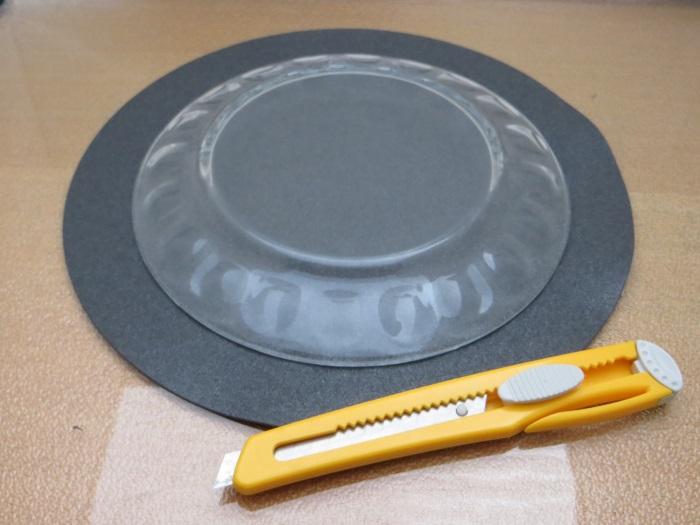 Reparatur mit einem hausgemachten flache Schaumstoff Sicke: messen Sie die Innen- und Außen Größe der Schaumstoffsicke die Sie für Ihre Reparatur benötigen