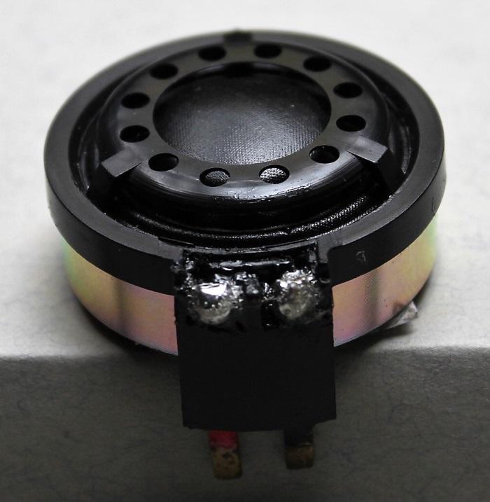 B&W CDM1 (ZZ9989 / ZZ09989) tweeter repair: the result after repair
