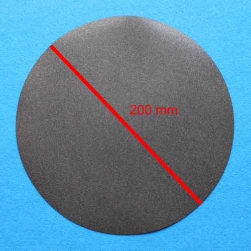 Speaker repair: piece of foam, flat
