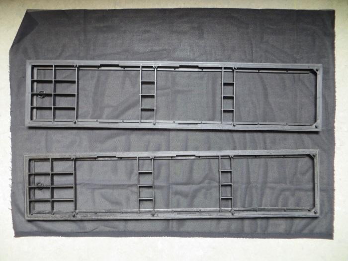 Vervangen luidsprekerdoek: frame met op maat geknipt luidsprekerdoek