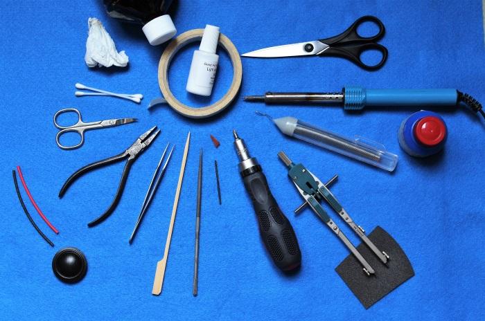 B&W N801S (TS26 80) tweeter: gereedschap gebruikt voor vervangen diafragma