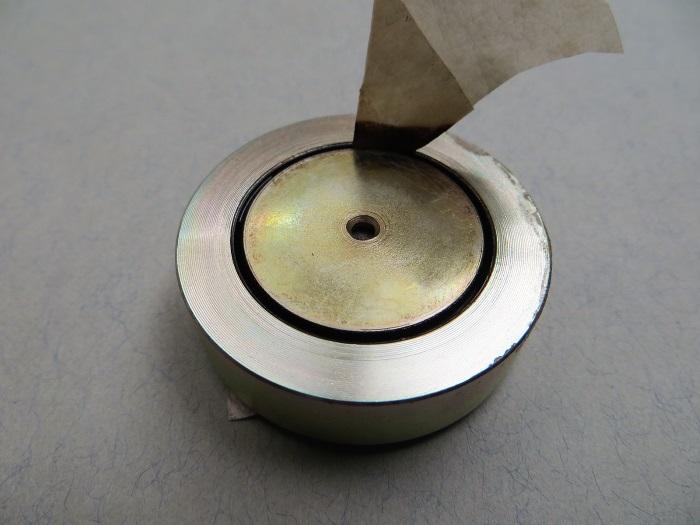 B&W CDM1 tweeter reparatie: verwijder de oude ferrofluid